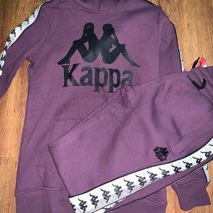 Purple kappa jumpsuit